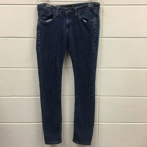 Levis Too Superlow 524 Jeans Medium Wash Skinny